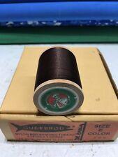Gudebrod Fishing Rod Winding thread Nylon Size E,  Dark Brown 396. 1 Spo.