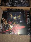 IF EX-18 D Lord Scorpion (Dark Matter) Black Zarak Iron Factory Transformers