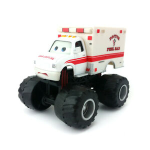 Disney Pixar Cars Monster Truck Mater Dr. Feel Bad Diecast Toy Model Car Loose