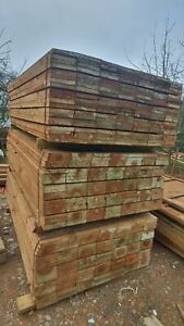 Timber Gravel boards Fencing 22mm x 150mm 6x1 Treated Fencing Board Brown 1830mm