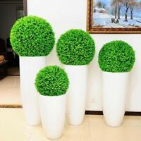 15-30cm Chic Artifical Plastic Green Grass Ball Plant Hanging Garland Home Decor