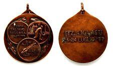 Medaglia Ass. Naz. Alpini - 1° Campionato Bocce A.N.A. Asti 23-24 Luglio 1977