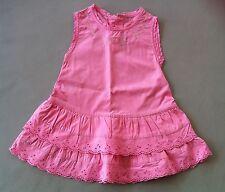 UNITED COLORS OF BENETTON robe été rose 12 mois 1 an comme neuve