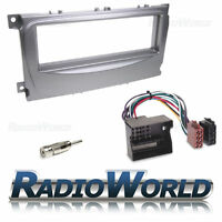 Ford Focus MK2 2007 > Stereo Radio Silver Fascia / Facia Fitting Surround KIT