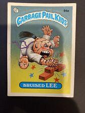 Bruised Lee Garbage Pail Kids 94a