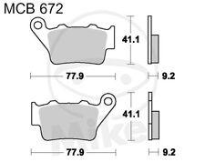 TRW Lucas Pastiglie mcb672si POSTERIORE HUSQVARNA WR 125 2t