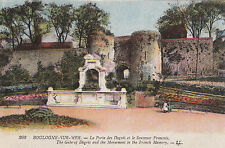 The Gate Of Degris & Monument To French Memory, BOULOGNE SUR MER, France LL