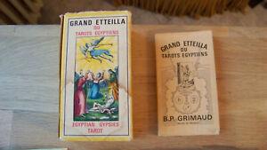 Grand Etteilla ou tarots egyptiens - Grimaud 1977
