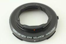 [TOP MINT] Pentax Mount Adapter 645 For 67 Medium Format Lens From JAPAN #036