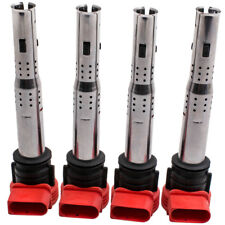 FOR AUDI A3 A4 A5 Q5 TT 2.0T TSI TFSI IGNITION COILPACK SET COIL PACKS