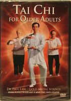 NEW Tai Chi for Older Adults Dr. Paul Lam DVD senior workout exercise fitness