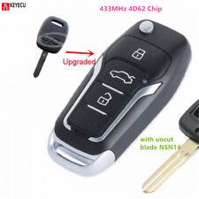 Flip Remote Car Key Fob 433MHz 4D62 for Subaru Impreza Forester Outback Liberty