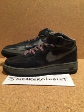 SAMPLE NIKE AIR FORCE 1 MID SZ 9 obsidian cool grey 2000 vintage le rare