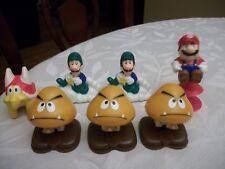 "Vintage 1989 NES Nintendo Super Mario Bros Goomba 2"" Figurine  Pop-Up Flip Toy"