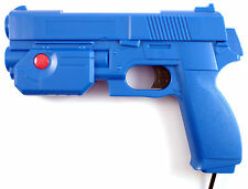 Ultimarc aimtrak recoil arcade gun-mame, house of the dead, virtua cop (bleu)