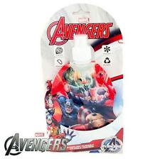 Marvel Avengers Foldable Canteen Water Drinks Bottle Lunch Box Carabiner Clip