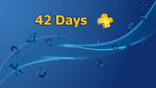 42 Days PS Plus PlayStation Plus PS4 PS3 Vita 3 X14-Day No Code