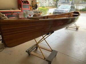 NF - 2005 Homemade 17' Cedar Strip Canoe - South Carolina