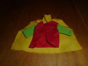 Vintage Mego Robin shirt and cape 1974