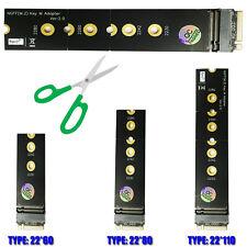 M.2 (NGFF)   Key M Extender Adapter