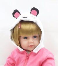 "2018 Hot New Handmade bebe Reborn Toddler Baby Doll Vinyl Silicone Girl Gift 24"""