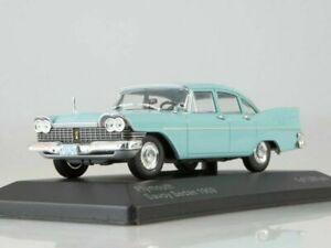 Plymouth Savoy Light Blue - 1959 1:43 White Box