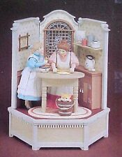 "ENESCO Victorian Mother and Daughter ""Cooking Lessons"" Multi-Action Music Box"