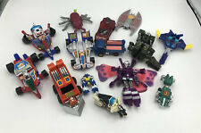 Vintage Robot Toy Lot - Transforming Vehicles & Other - Some Incomplete & Parts