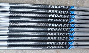 """100% Authentic New 3-LW Project X PXi .355"""" Taper Tip 5.0 Flex Iron Shafts"""