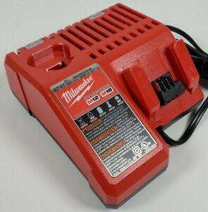 OEM Genuine Milwaukee 48-59-1812 M12/M18 12V/18V Lithium Ion Battery Charger