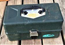 Sears Roebuck & Co. 3 Tray Tackle Box Full of Ho Scale Train Tracks/Parts