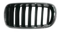 CALANDRA GRIGLIA ANTERIORE SX PER BMW X5 F15 X6 F16 2014- CROMATA E NERA