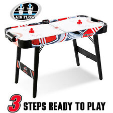 MD Sports Easy Assembly 48 Inch Air Powered Hockey Table Space-Saving Design New