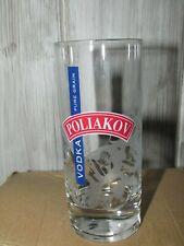 lot de 6 verres à vodka Poliakov 20cl dans leur carton d'origine