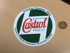 "Brand New! CASTROL WAKEFIELD STICKER 5"" Classic Car Motor Oil Retro Vintage 598"