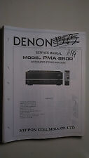 Denon pma-880r service manual original repair book stereo amp amplifier