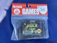 Sega Genesis Game Cartridge Only - The Incredible Hulk (GameStop Purchase) Used