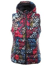 Adidas Originals Slim Vest All Over Print-Hooded Gilet Body warmer Size.UK-10
