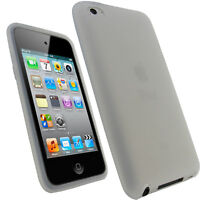 Clear Silicone Skin Case for Apple iPod Touch 4th Gen 4G iTouch Cover Bumper