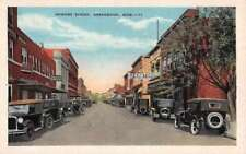 Greenwood Mississippi Howard Street Scene Historic Bldgs Antique Postcard K73345