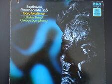 BEETHOVEN PIANO CONCERTO NO 3 Gary Graffman Walter Hendl 33 RPM Vinyl LP RECORD