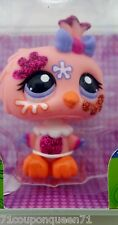 Littlest Pet Shop Shimmer N Shine 2345 Glitter Sparkle Owl LPS New 4+