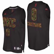 Mens M Oklahoma City Thunder Camo Fashion Swingman Jersey - Westbrook M63