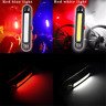 Rechargeable USB Bike LED Tail Light Bicycle Safety Cycling Warning Rear Lamp