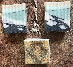 Natural Handcrafted 'PURE DERMIS' Soaps Collection ~ Set of 3