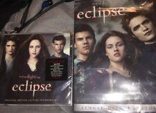 Twilight Saga: Eclipse (Original Soundtrack) And Twilight Eclipse 1-Dice DVD New
