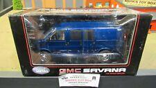 HWY 61 DCP BLUE GMC SAVANA CARGO DELIVERY VAN TRUCK 1:25 1:24 /CL