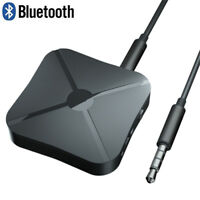 2 in 1 Bluetooth 4.2 Wireless Audio TV Transmitter Adapter Car Music Receiver ~