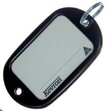 Motel Key Tags 12 Black Plastic KEVRON Tags W/Ring -12pcs-FREE POST