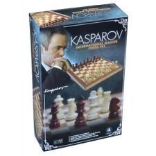 Kasparov International Master Chess Set Wooden Board Game - Garry Kasparov